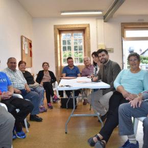 Ciudadanos (Cs) Ames escucha las reivindicaciones de la Asociación de Vecinos de Ortoño