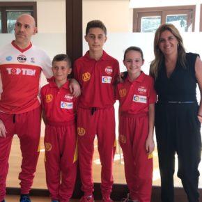 Ciudadanos Pontevedra anima a los jóvenes de ABP Sport que participarán en el Campeonato Mundial Cadete y Junior de Kickboxing