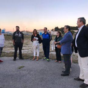 Ciudadanos Pontevedra ratifica ante los vecinos su rechazo a la ampliación de la depuradora de Os Praceres