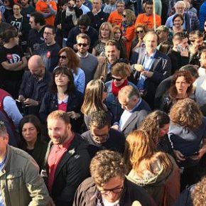 Ciudadanos Galicia apoyan a los trabajadores de Alcoa en su manifestación de este sábado