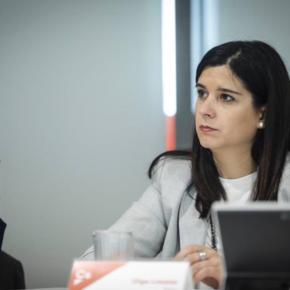"""Olga Louzao: """"Estoy segura de que Ciudadanos liderará el cambio en las próximas elecciones; Galicia va a ser un ejemplo de ello"""""""