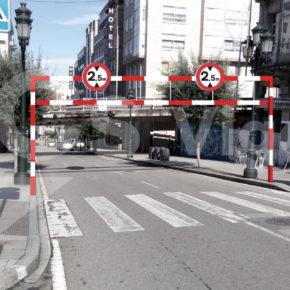 Ciudadanos Vigo solicita que se estudie la instalación de un arco de gálibo en la Rúa Alfonso XII