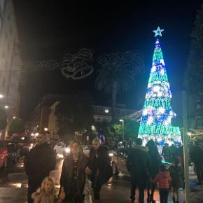 Ciudadanos (Cs) Ribeira critica el encendido del alumbrado de navidad