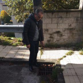 Ciudadanos solicita la limpieza de los sumideros para evitar inundaciones en distintos puntos de la ciudad
