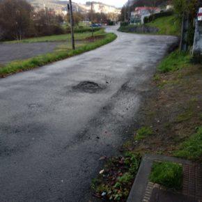 Ciudadanos Arteixo solicita al gobierno local la reposición de aceras, alumbrado y carril bici desde la Rúa Laxobre hasta el Área Recreativa do Seixedo