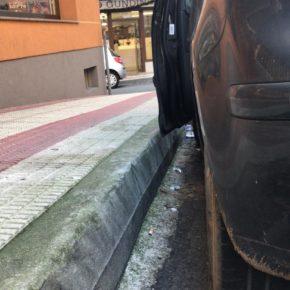Ciudadanos Arteixo solicita al Concello que adopte medidas para corregir ejecuciones de desnivel por alturas de aceras y viales