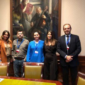 Las diputadas gallegas de Cs se reúnen en el Congreso con responsables de la Plataforma Víctimas del Alvia