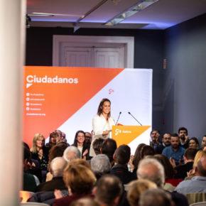 """Arrimadas: """"Cs se presenta a las elecciones en Galicia: Nuestros votos van a ser imprescindibles"""""""