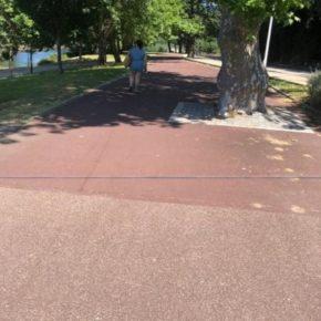 """Lamas: """"Celebramos que el Concello tenga en cuenta nuestra propuesta y vaya a reparar el carril bici entre el puente de los tirantes hasta Monteporreiro"""""""