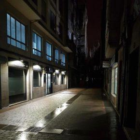"""Lamas: """"Exigimos al Ayuntamiento que arregle el problema de iluminación en la Rúa Nova Arriba e instale papeleras en la Avenida de Lugo"""""""