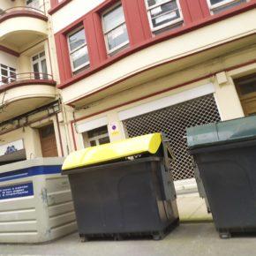 Ciudadanos denuncia que o Concello só renovou 26 contedores de lixo en 2020, o que representa menos do 1% dos instalados